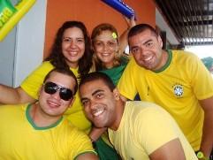 Carol Cotias, Nice Sampaio, Cezar, Estevão terceiro e João Filho / Foto Carol Cotias