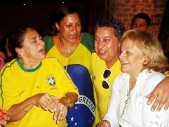 Licia Fabio, Marta Góes, Jamil Moreira Castro e Elíbia Portela / Foto Carol Cotias