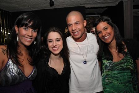 Monique Kessous e Samba d'Ju   Foto Divulgação