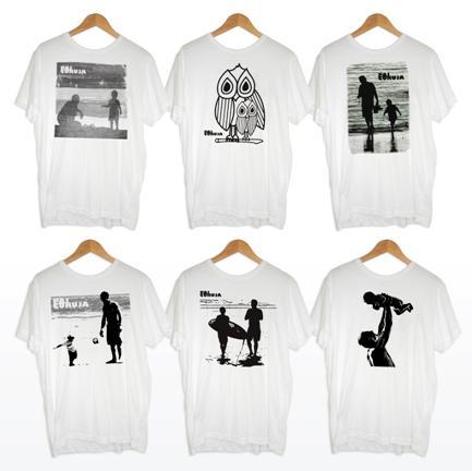 T-shirts pai coruja | Foto Divulgação