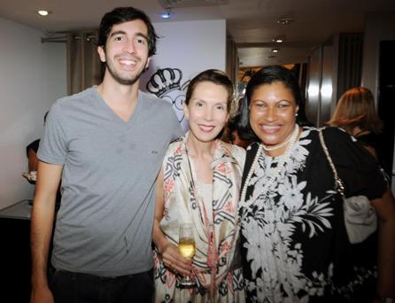 Daniel Protti, Thais Protti e Marta Góes | Foto Osmar Gama