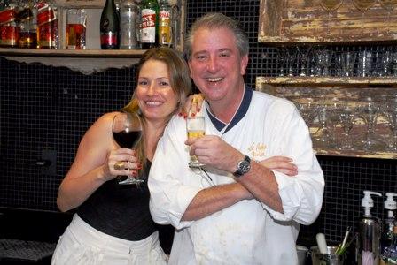 Fernanda Reis e Sergio Arno | Fot: Reprodução
