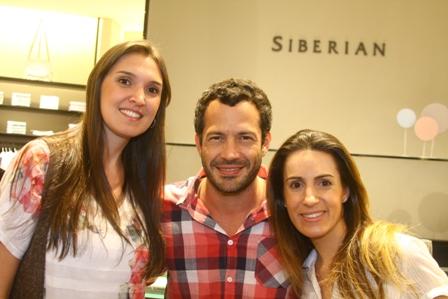 Tatiana Funabashi, Malvino e Leticia Fernandes | Foto Manoel Junior