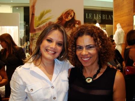 Verena Morgade e Tininha Viana | Foto Carol Cotias