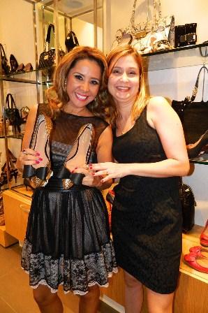 Olívia Libório e Fernanda Albuquerque | Foto Márcia Luz