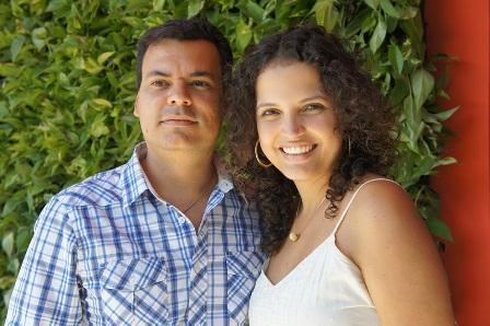 Leandro Reis e Tatiana Amorim | Foto Carol Cotias