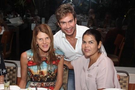 Anna Dello Russo, Carlinhos Rodeiro e Daniela Falcão | Foto Divulgação