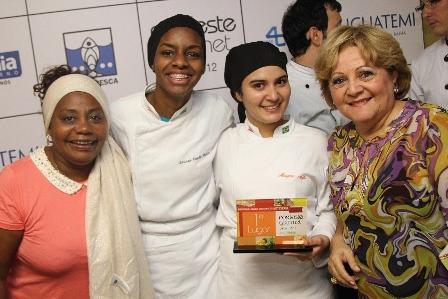 Dadá, Larissa Oliveira, Mayara Avila e Elíbia Portela | Foto Uran Rodrigues