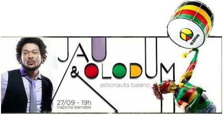 Jau e Olodum | Foto Divulgação