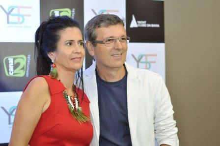 Regina e Guilherme Linhares | Foto Lucas Assis
