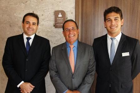 Roberto Bertino, Eugênio Barreto e Filipe Tambon | Foto Carol Cotias