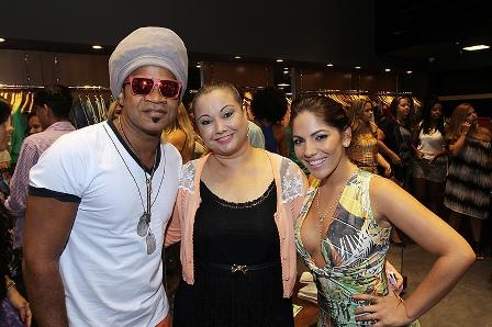 Carlinhos Brown, Sandra Magalhães e Anamara | Foto Leogump Carvalho/Divulgação