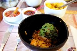 Filé de peixe grelhado com crosta ervas e risoni de camarão - chef Dallton Rangel | Foto Carol Cotias