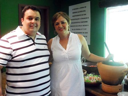 Alessandro Calfa e Carla Magalhães | Foto Divulgação