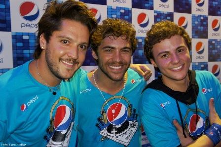 André Vasco, Fernando Roncato e Miguel Roncato | Foto Carol Cotias