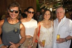 Carlos Rodeiro, Regina e Buba Weckerle | Foto Carol Cotias