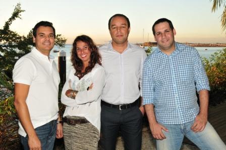 Leandro Reis, Adriana Cruz, Léo James e Zeca Fernandes   Foto Eli Cruz