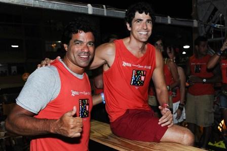 Raí e Reinaldo Gianecchini | Foto Luciana Prezia