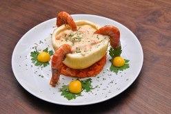 Camarão ao molho de queijo | Fotos KanaL 00 - Flávio Diamantino