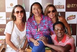 Lila Lopes, Licia Fabio, Sylvia Gladys e Luiz Miranda | Foto Divulgação