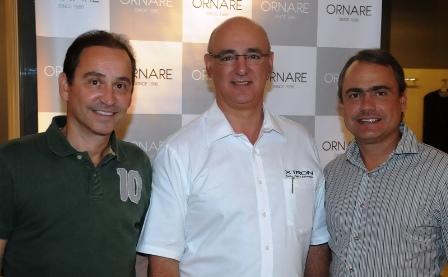 Antonio Gatto, Marcos Gali e Daniel Andrade | Foto Divulgação