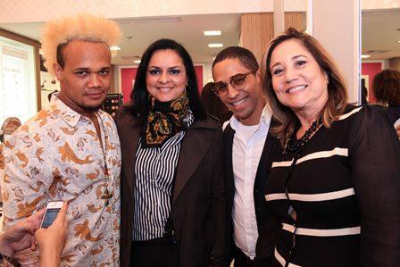 Uran Rodrigues, Ana Paula Magalhães, Régis Sodré e Michelle Marie | Foto Divulgação
