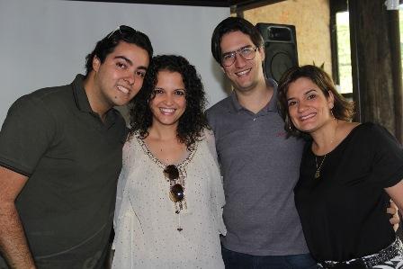 Marcelo Borges, Tatiana Amorim, Arthur Athayde e Fabiola Martins | Foto Tati Freitas