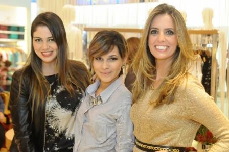 Juliana Tavares, Vanessa Bittencourt e Manuela Rey | Foto Divulgação