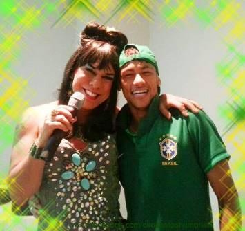 Titia e Neymar | Foto Arquivo pessoal