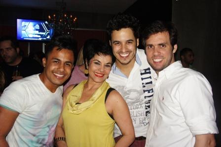 Uallas Andrade, Katia Guzzo, Paulinho Alabart e Roberto Taboada | Foto Carol Cotias