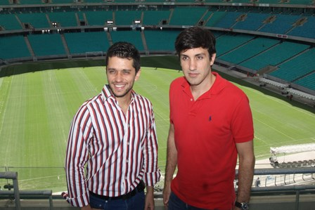 José Augusto Vasconcelos e André Gagliano | Foto Roberto Viana