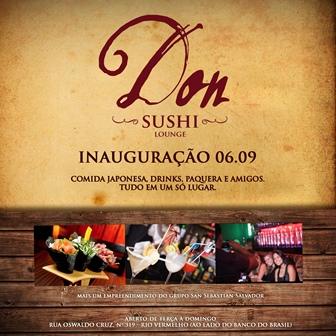 Don Sushi Lounge | Foto Divulgação