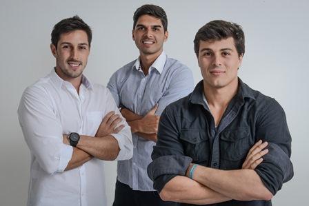 Felipe Bastos, João Paulo Fichman e Marcelo Ladeiro | Foto Divulgação