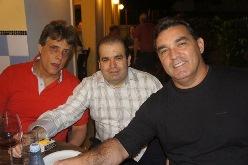 Amadeu Dias, Deoclécio Cantalice e Roberto Dias | Foto Carol Cotias