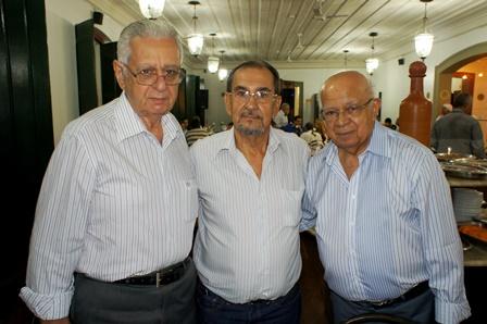 Antonio Nunes, Romildo Nunes e Mário Ivo | Foto Carol Cotias