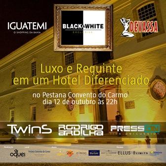 Black & White Exclusive Party | Foto Divulgação