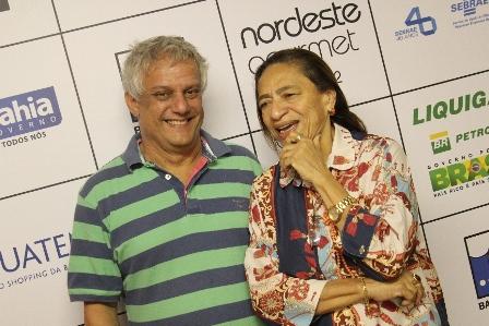 Edinho Engel e Licia Fabio | Foto Uran Rodrigues