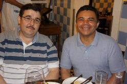 Paulo Coelho e Vicente de Paula | Foto Carol Cotias