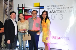 Rogério Oliveira, Sonia Delmondes, Luiz Humberto Carvalho e Karyne Pinheiro | Foto Flávio Guaraná/StudioK