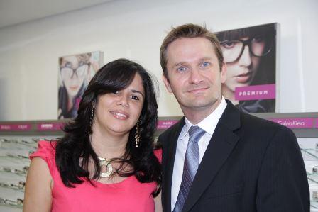 Claudiana Almeida e André Klieman | Foto Paulo Sousa