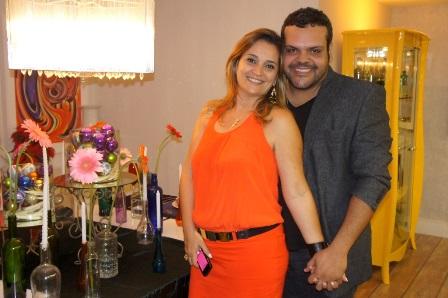 Fabiana Candini e Felipe Caribé | Foto Carol Cotias