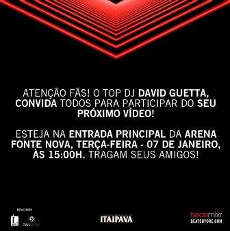 David Guetta | Foto Divulgação