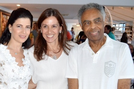 Carla, Flora e Gilberto Gil   Foto Divulgação