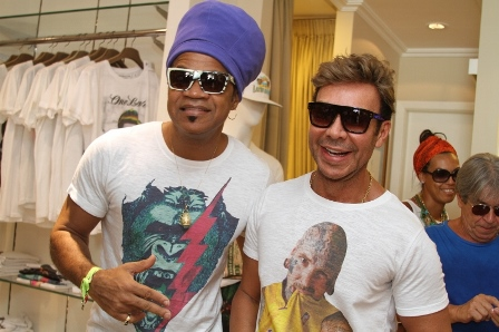 Carlinhos Brown e Carlos Rodeiro | Foto GB Souza