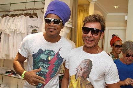 Carlinhos Brown e Carlos Rodeiro | Foto GB Souza