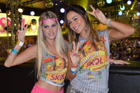Bárbara Evans e Letícia | Foto Felipe Souto Maior / AgNews
