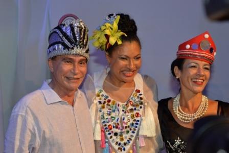 Cesar Romero, Marta Góes e Daniela Steele | Foto Kanal 00