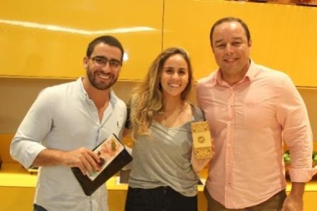 Felipe Gonzalez, Lais Kruschewsky e Leo James | Foto Uran Rodrigues