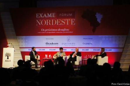 Antônio Andrade Júnior, Deusmar Queirós e Flávio Rocha | Foto Carol Cotias