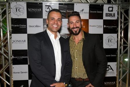 André Figueredo e Alex Galletti | Foto GB Souza